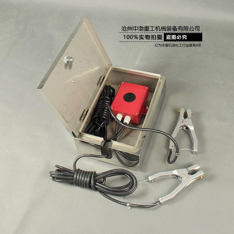 不锈钢静电接地报警器
